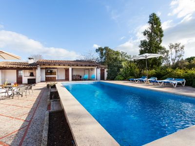 Photo for VILLA GIRO NICE PROPERTY FOR 8 PEOPLE WITH PRIVATE POOL LOVELY QUIET AREA