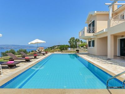 Photo for 3 bedroom Villa, sleeps 7 with Pool, Air Con, FREE WiFi and Walk to Shops