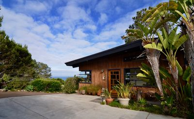 Ocean views surround you in a beautiful and relaxing hillside setting in Del Mar
