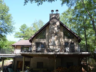 Photo for 😎 Spacious Lake Hartwell home with cozy cabin appeal, 15 mins to Clemson🐯 WiFi