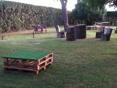 Photo for Farmhouse with park, five-a-side football and above-ground swimming pool all for you exclusively !!!