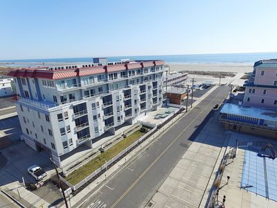 Beach Block End Unit,  Ocean Views From All Rooms!!