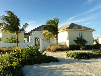 Photo for Waterfront home with a private dock. Across from a cristal clear beaches.