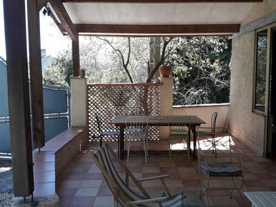Photo for Family house, garden, terrace, between sea and hill for 8 to 9 people