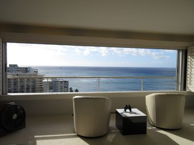 Photo for Oceanfront Colony Surf - Spectacular Ocean view with King Size Bed and Sofa Bed!