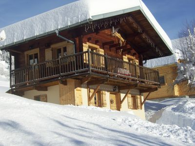 Photo for Typical chalet in the Beaufort