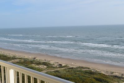 Step out on the balcony to enjoy this incredible view!