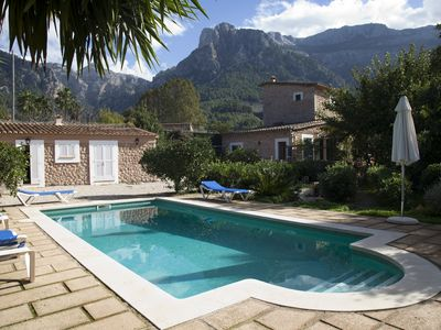 Photo for Individual house private pool free wifi parking eml 666