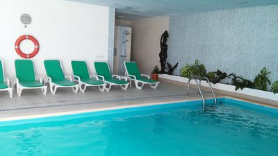 Photo for Villa with Heated Indoor Pool - Holidays in winter and summer