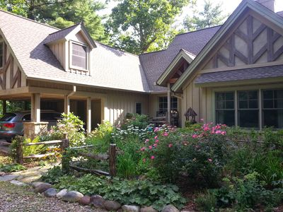 Photo for Luxurious Mountain Home On Private Lake In The Heart Of Cashiers