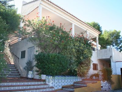 Photo for Traditional Valencian house with pool, terrace mountain and near the beach