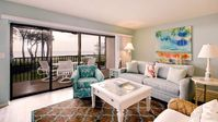 Enjoyed the island location, room decor, and short path to the beach.
