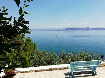 Photo for Argolis Bay - Fully Equipped Sea View 40sqm Apartment