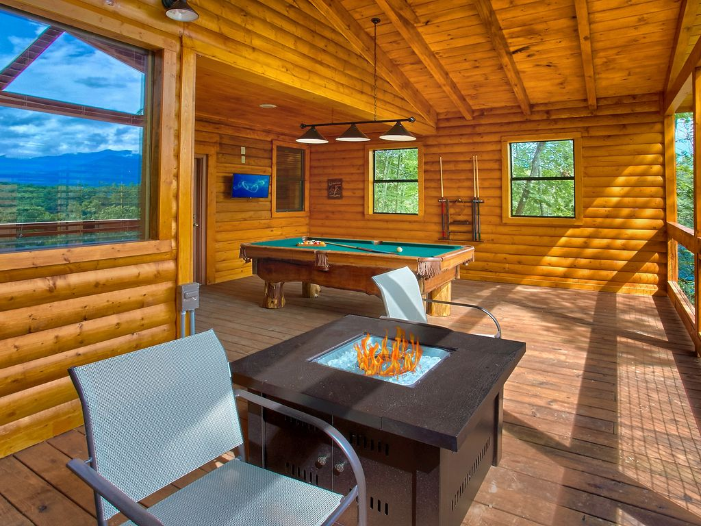 Nice Property Image#4 Romantic Cabin With Views, Outdoor Living Room, Fire Pit, Part 21