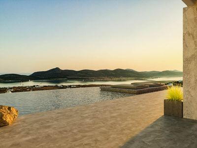 Photo for Windmill House with private infinity pool @ Another Island