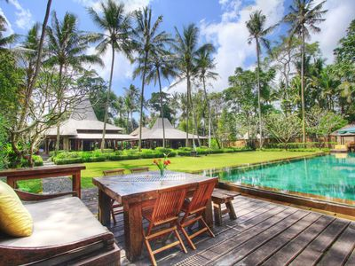 Photo for A luxury private Villa, Ubud, 4 bedrooms pool villa with stunning landscape