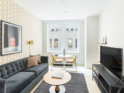 Photo for Sonder | Stock Exchange | Private 1BR + Lounge