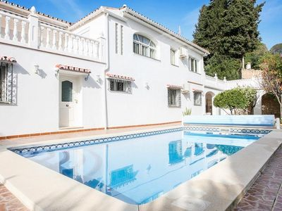 Photo for Modern furnished villa with three bedrooms, - bathrooms with private pool