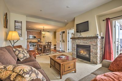 You'll love unwinding in the peaceful living area.