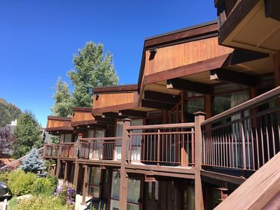 Photo for 2 Blocks from Gondola with Stunning Mountain Views right in Downtown Aspen!