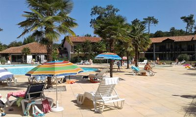 "Photo for T3 ""sun"" Ondres beach with pool and tennis"