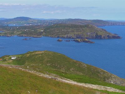 Cape Clear views of Sherkin Island and Baltimore