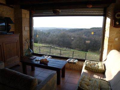 Photo for Cottage of character, near SARLAT, SUPERB PANORAMA