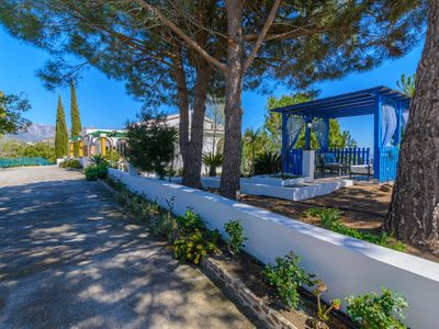 Photo for Villa with panoramic views. Private pool. Relaxing and safe area. Free Wifi