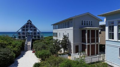 Photo for Gulf Front In Seaside, FL, 4 BR , 3 Levels Of Gulf Front Porches, One Of A Kind!