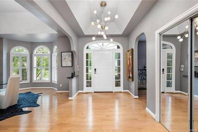 Tall ceilings, bright throughout!