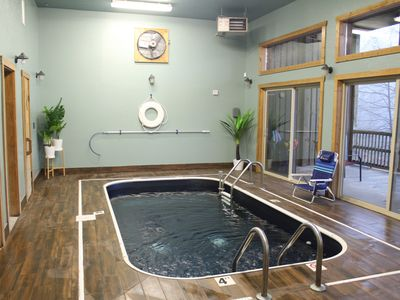 Photo for NEW OWNER SPECIAL!! **Private Indoor Pool** Sauna*Hot Tub*Long Views*Arcade*