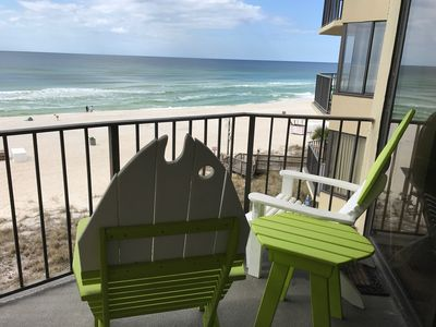 Photo for Sunbird - 407w - Bonnie's Tiny House - Gulf Beach Front Condo.  Sand, Surf, Sun!