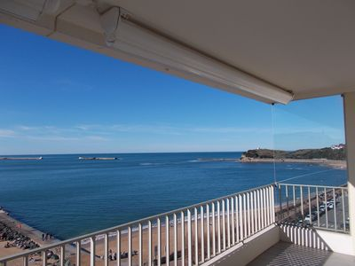 Photo for Saint Jean de Luz ⎜Ocean view apartment · 3 bedrooms · 6 people · Parking