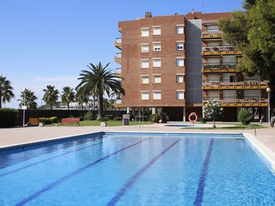 Photo for AT092 ELS PINS I: Apartment on the seafront with 4 communal pools