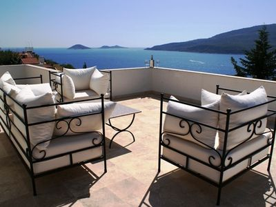 Photo for Kalkan - Lovely Contemporary Villa, Private Pool and Uninterrupted Sea Views