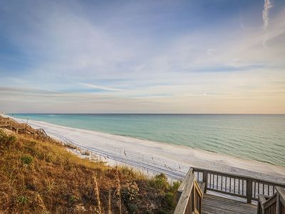 Photo for Gulf Front Luxury Condo with Sweeping Views and Community Pool!