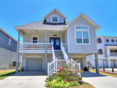 Photo for 5 Bedroom/ 5 Bath home right on the beach! Heated Community Pool!
