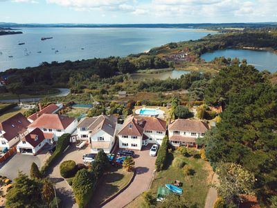Photo for Harbour Vista is a detached house in Poole, with its own private swimming pool*.