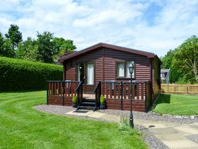 Photo for THE SPINNEY LODGE, pet friendly, with a garden in Jedburgh, Ref 26541