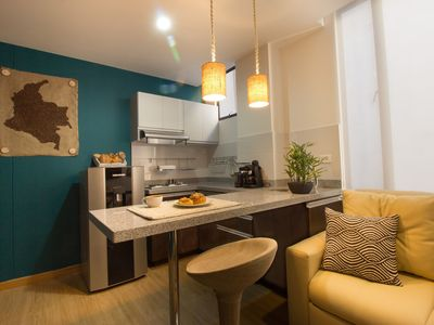 "Photo for ""El Cafetero"" - Handcrafted Colombian Apartment"