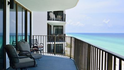 Photo for Beautiful 3 bedroom condo on the Gulf of Mexico