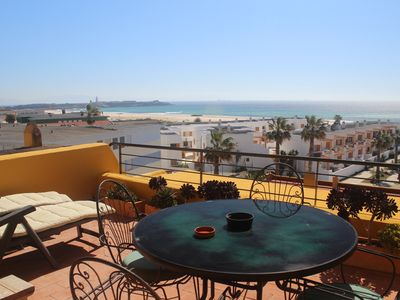 Photo for Beachfront Penthouse Apartment - Los Lances