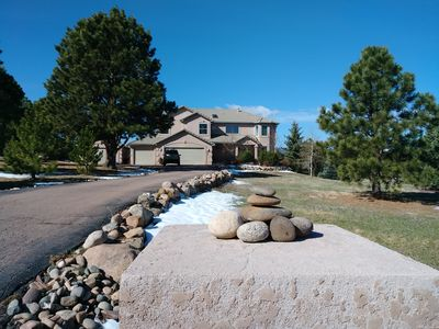 Photo for NEW Listing! Quiet Home in Monument on 2 1/2 Acres 15min to Air Force Academy.