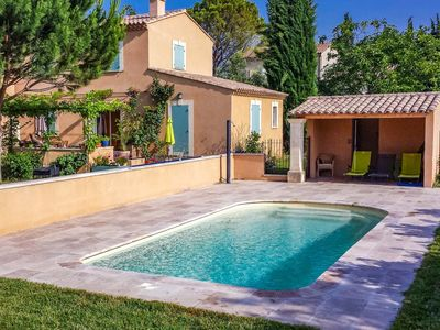 Photo for Air-conditioned villa in Carpentras, Vaucluse, pool, pets welcome