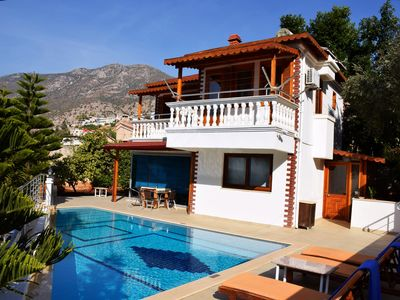 Photo for Immaculate Two Bedroom Villa with Private Pool, Directly next to the Sea