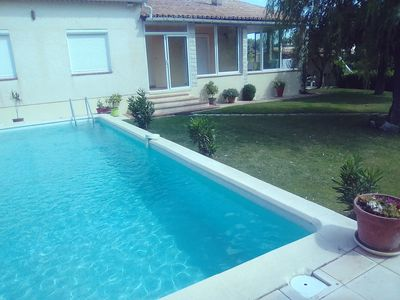 Photo for villa with pool near uzes