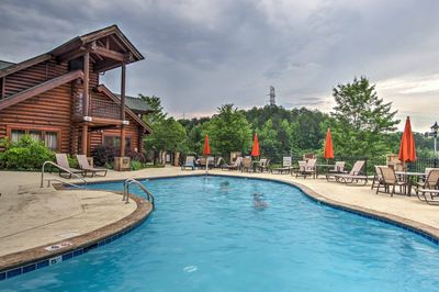Go for a swim in the community outdoor or indoor swimming pool.
