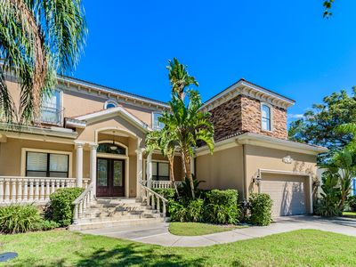 Grand & Lovely!    Davis Island Custom Home With 6 Br, 4 Bth w/Pool!!!