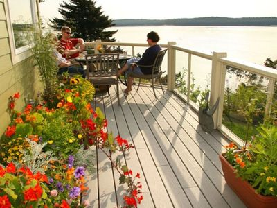 Photo for Kodiak Favorite on the Ocean. Enjoy Gardens, Watch Sea Otters, Whales