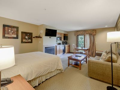 Photo for A213 - Studio Lake View Suite at Lakefront Hotel